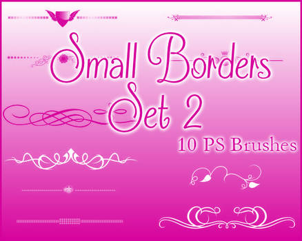 PS Small Borders Set 2