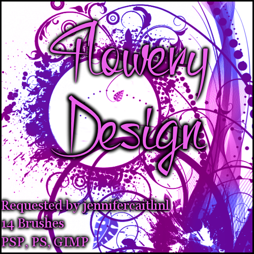 Request: Flowery Design by Illyera