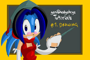geN8's Tutorials - 1 Drawing by geN8hedgehog
