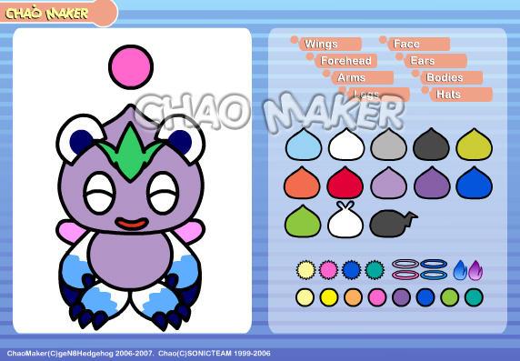 Gen's Chao Maker by geN8hedgehog