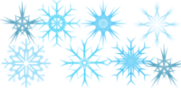 Snow Flake Brushes by serene1980