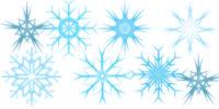 Snow Flake Brushes