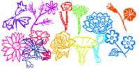 Flower Brushes by serene1980
