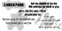 Linkin Park Brushes by serene1980