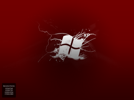 WindowsXP Red Motion Wallpaper