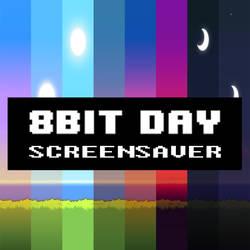 8-bit Day Screensaver (Download in description)