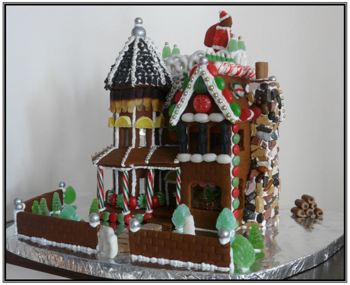 Victorian Mansion Gingerbread House Instructions by Miletus on ...