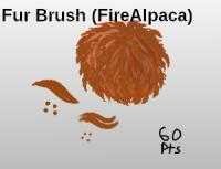 Fur Brush Set (FireAlpaca) by Littlesnowcream