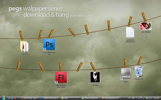 Pegs Desktop wallpapers