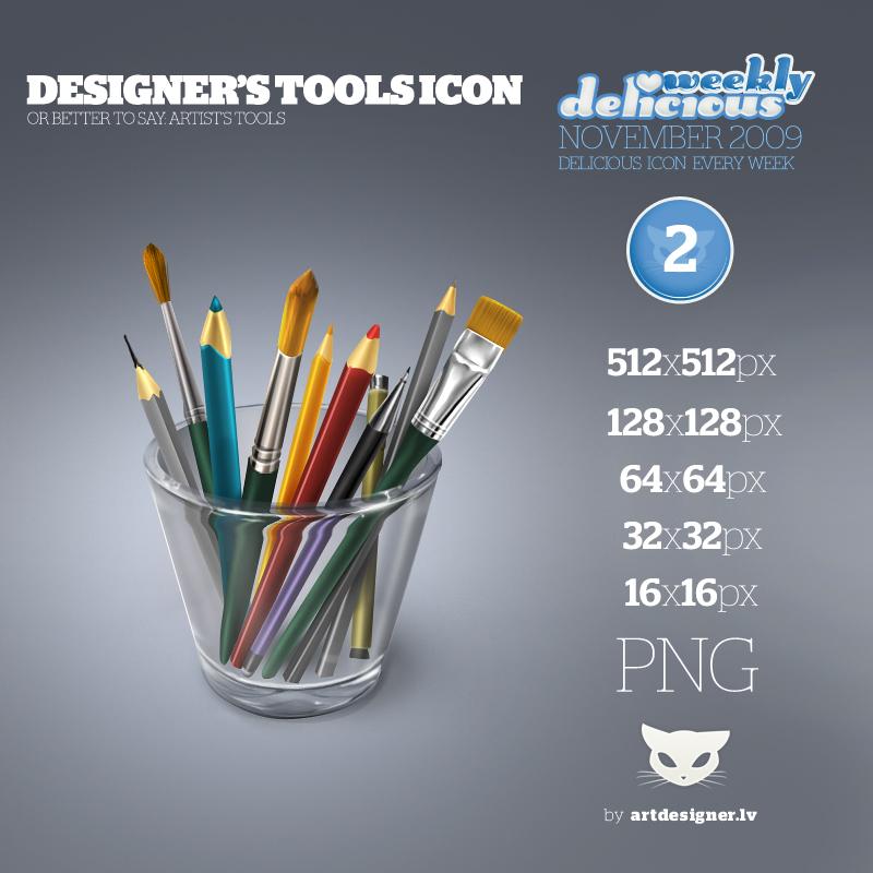Designer's tools icon - WD2