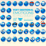 Very Emotional Emoticons
