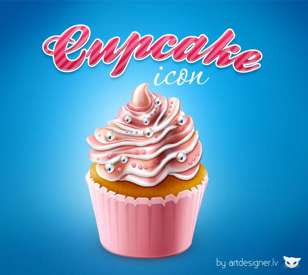 Cupcake icon by lazymau
