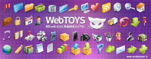 Webtoys 50 icons