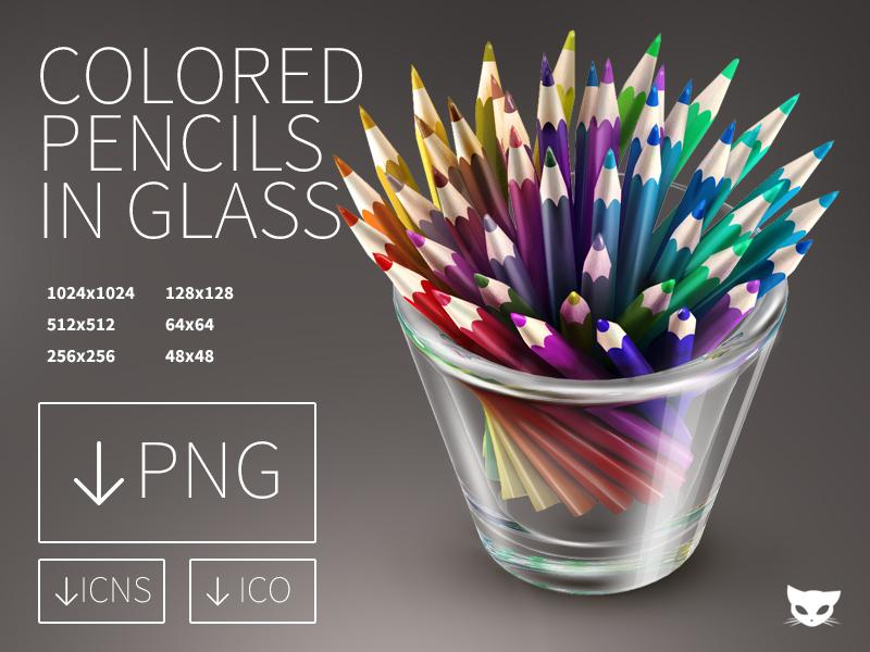 Colored Pencils by lazymau