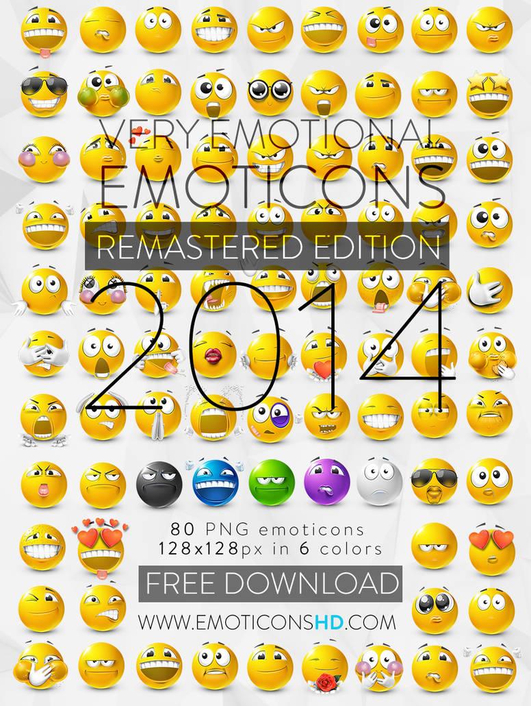 EmoticonsHDcom Remastered Emoticons