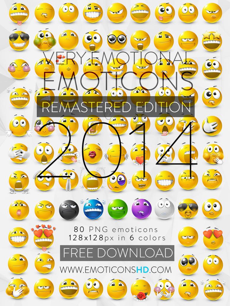 EmoticonsHDcom Remastered Emoticons by LazyCrazy