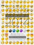 EmoticonsHDcom Remastered Emoticons