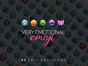 EmoticonsHD Emoji FreePack