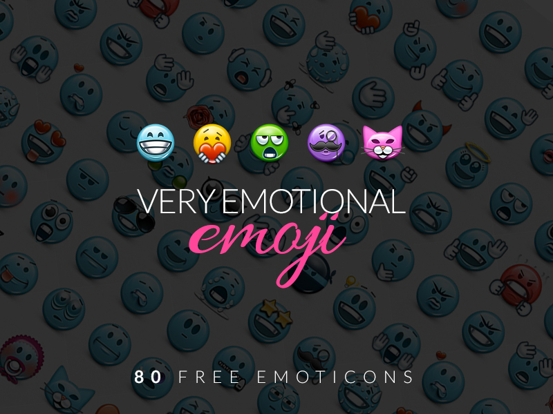 EmoticonsHD Emoji FreePack by lazymau
