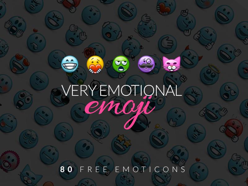 EmoticonsHD Emoji FreePack by LazyCrazy