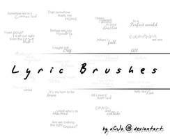 Lyric Brushes