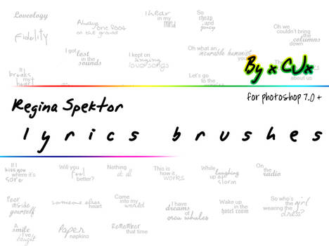 Regitext Brushes
