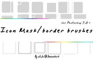 Icon BorderMask brushes