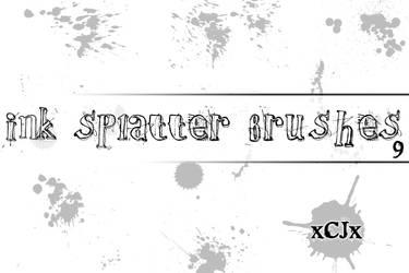 Splatter Brushes ps 7