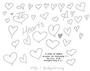 Stack of Hearts: Brushes