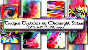 Tiedyed textures by MidknightStarr