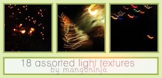 Assorted Light Textures 3 by mangoninja
