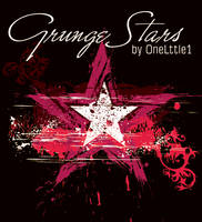 Grunge Stars Pack by OneLttle1