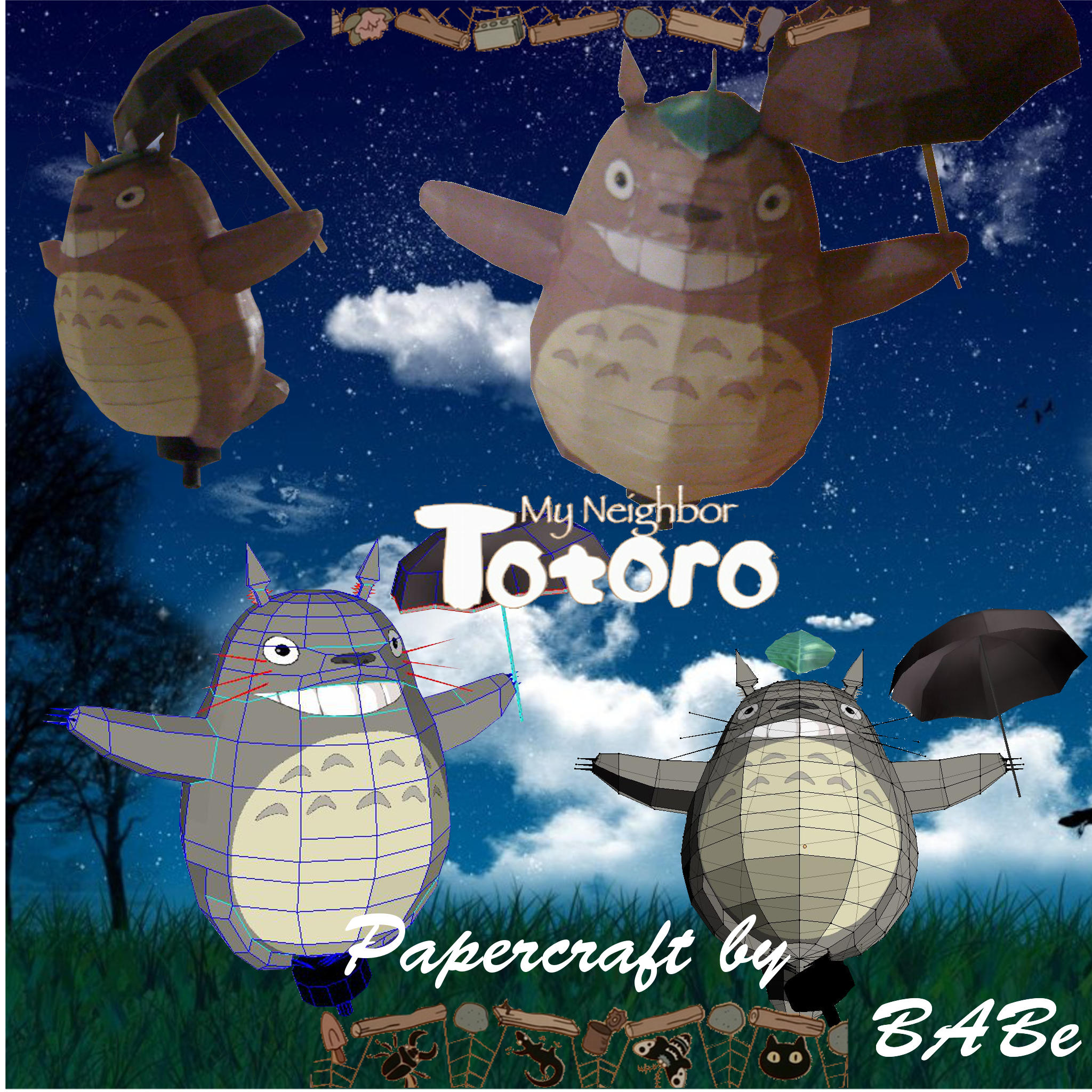 Totoro by BABe by Baroni-BABe