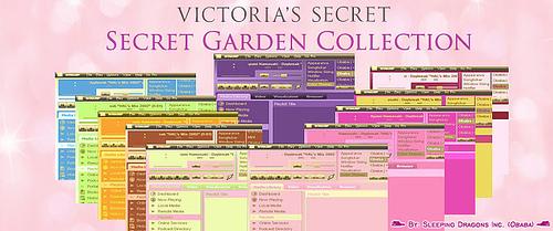 Bento Themepack Obaba Secret Garden by Obaba