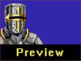 C64 Knight Character Portrait