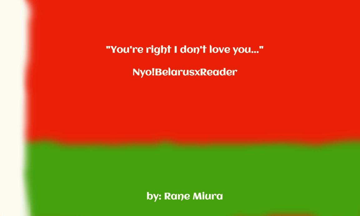 Hetalia ~ Male!Belarus w/ Chubby!Reader by ranemiura on