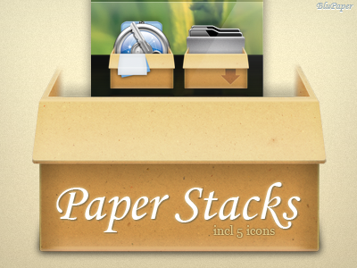 Paper Stacks by BluPaper
