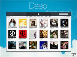 Deep - iTunes 11 Theme for Windows