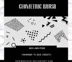 +Geometric Brush|FREE