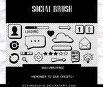 +Social Brush|FREE