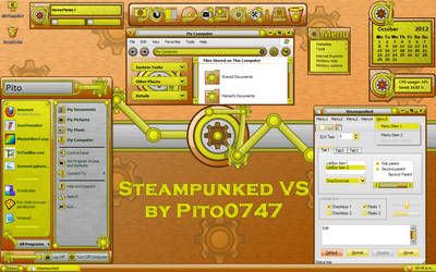 Steampunked for XP by pito0747
