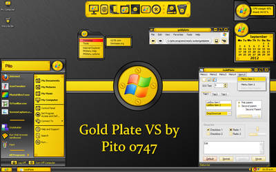 Goldplate for XP by pito0747