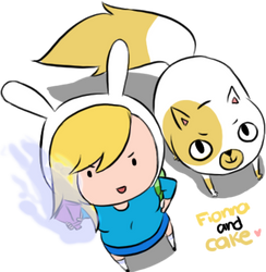 fionna and cake by malengil