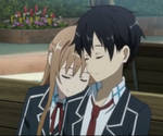 Asuna Kirito School Gif