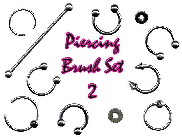 Piercing Brush Set 2 by LaurenW24