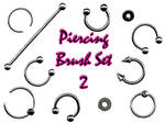 Piercing Brush Set 2