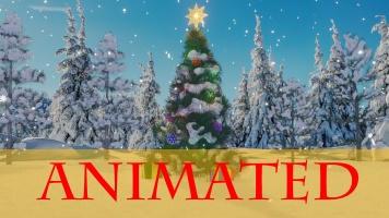 Christmas tree (day) [animated]