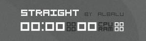 Straight clock... by albalu