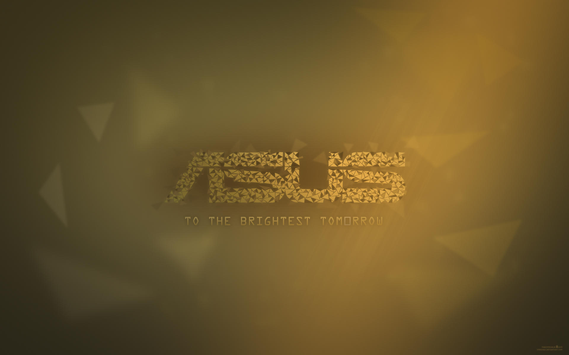 Asus to the brightest tomorrow wallpaper by steelmax on deviantart - Wallpaper images ...