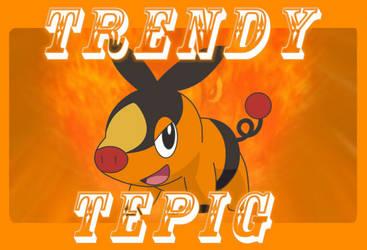 Trendy Tepig  by blackshadow148